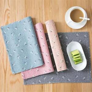 Table Mats Placemat Bowl Placemat Spoon Pad Drink Holder Kitchen Accessories YO