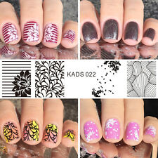 KADS Nail Art Stamp Stamping Plate Flower Series Nail Template Print Tool