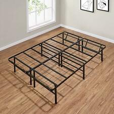 Full-Queen-king Size Platform Bed Frame 14 Inch Mattress Steel Foundation Metal