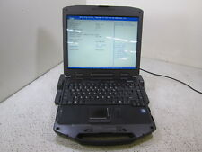 GENERAL DYNAMICS W/ DOCK TOUGHBOOK I7-2655LE.2.2GHZ GD8000 8GB RAM NO HDD T9-B12