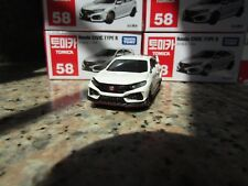 TAKARA TOMICA #58 HONDA CIVIC TYPE R, 1~2pcs: No Track,  3~28pcs: With Track