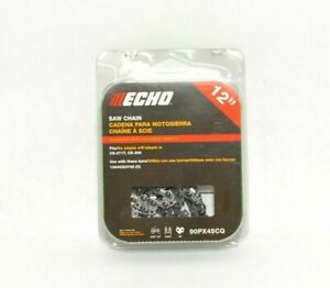 (3 PACK) 90PX45CQ Genuine Echo 12 In Low Profile Chainsaw Chain cs-271t cs-2511t