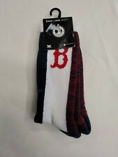 1 Pair Boston Red Sox Large Socks