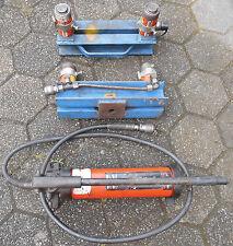 ! ! ! Handhydraulikpumpe, Maschinenheber, Hebevorrichtung, Hydraulikzylinder ! !