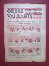 COEURS VAILLANTS N°48 du 1 DECEMBRE 1935 HERGE TINTIN ET MILOU EN ORIENT TBE