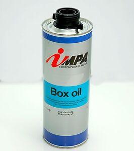 IMPA 1415 BOX OIL Protettivo anticorrosivo  trasparente per parti scatolate Inpa