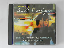CD The Music of Avril Lavigne Performed by Julliet Quatorze