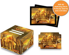 DECK BOX PORTA MAZZO PRO DUAL + 80 PROTECTORS Modern Masters MTG MAGIC Ultra Pro