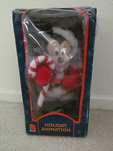 "16"" Mickey Mouse Unlimited Santa's Best Holiday Animation Disney Christmas"