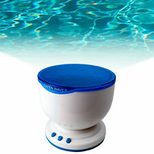 Hot Romantic Ocean Sea Waves LED Lamp Night Light Projector for iPod MP3 Speaker