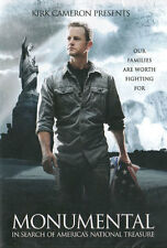 NEW Sealed American History Documentary WS DVD! Monumental - Kirk Cameron (2012)
