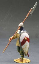KING & COUNTRY MEDIEVAL KNIGHTS MK006 FOOT SOLDIER WITH SPEAR & SHIELD MIB