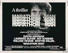 Marathon man Dustin Hoffman movie poster print