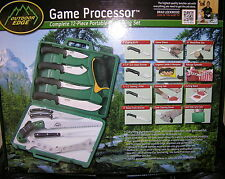 Outdoor Edge 12 Piece Game Processor Game Cleaning Kit PR1 NEW Stainless 420