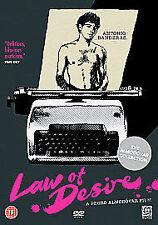 Law Of Desire (DVD, 2006)  NEW AND SEALED REGION 2 UK  Pedro Almodovar