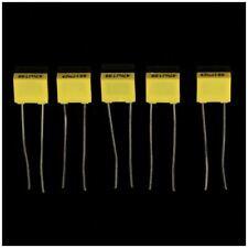5X(50pcs 10 Value Polypropylene Safety Plastic Film Capacitor (1nF-0.47uF))