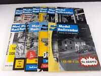 Model Railroader Magazines 1958 Lot 12 Issues Complete Year Kalmbach Publishing