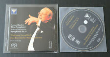CD SAMUEL BARBER / ROBERT SCHUMANN / WOLFGANG SAWALLISCH / LIVE 2003 / FARAO