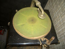 Antique Vintage Edison Diamond Disc Phonograph Model C150 player, horn and head