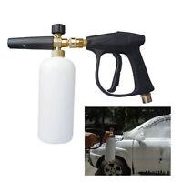 Pro Foam Wash Gun 3000PSI/220BAR High Pressure Washer Snow Lance Bottle Car New