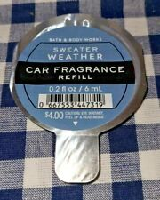 Sweater Weather New Scentportable *Car* Refill Bath & Body Works Ships Free!