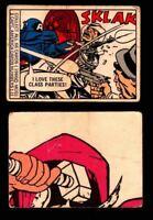 1966 Marvel Super Heroes Donruss Vintage Trading Cards You Pick Singles #1-66
