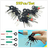 Motorcycle Removal Electrical Wire Terminal Connector Release Pin Key Tool Kit