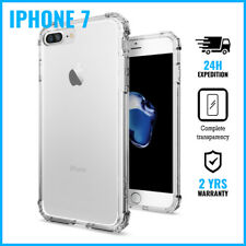 Transparent Cas Clear Hard Case Cover Etui Coque Hoesje For iPhone 7