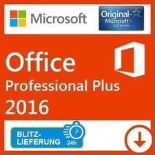 Microsoft Office Professional Plus 2016 Lizenz Key