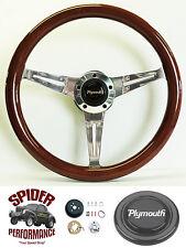 1968-1969 Roadrunner Satellite GTX steering wheel MAHOGANY 14 1/2 Grant