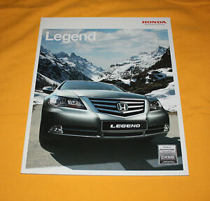 Honda Legend 2009 Prospekt Brochure Depliant Catalog Broschyr Folder Prospetto