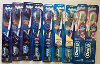 LOT OF 9 - ORAL B TOOTBRUSHES