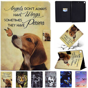 For iPad 5th 6th 7th 8th Gen Mini Air 3 4 Pro 11 Smart Leather Stand Case Cover