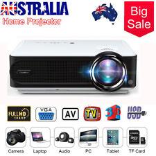 1080P 7000LM Mini Video Theatre 3D Projector Home Cinema 1080P HDMl USB VGA TF