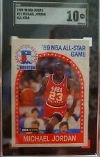 1989-90 Hoops All Star #21, Michael Jordan, Sgc-10 Gem Mint!!!