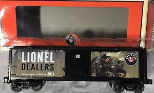 Lionel #6-34359 ~ 2011 Dealer Appreciation Exclusive Boxcar (NEW IN BOX)