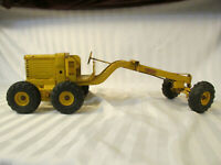 "Doepke Model Adams Motor Grader Pressed Steel Metal Toy 26"" Vintage Yellow Tonka"