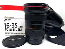 Canon EF 16-35 mm f 2.8 L USM II