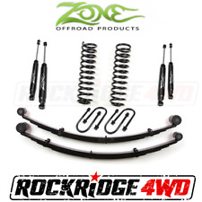 "Zone 3"" Suspension Lift Kit W/ Rear Springs Jeep Cherokee XJ 84-01 Dana 35 Rear"
