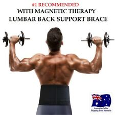 PREMIUM Magnetic Therapy Lumbar Waist Support Lower Back Brace Belt Strap