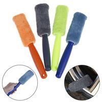 1Pc Plastic handle microfiber wheel tire rim brush washing tool for car suv SA