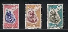 Upper Volta 71 - 73 - Tribal Antelope. Set Of 3. MNH. OG.   #02 UPPER71s3