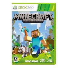 New Xbox360 Minecraft: Edition Japan Import