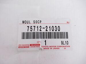 Genuine OEM Scion 75712-21030 Driver Front Belt Molding Window Sweep 2005-10 tC