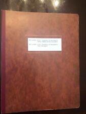 Original Directory of Signal Corps Radio Communication & Test Equipment 1950/1