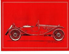 1925 LANCIA LAMBDA TORPEDO ROADSTER ~ ORIG 1963 MAGAZINE PHOTO / PICTURE / AD