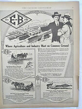 1921 Emerson-Brantingham Farm Machinery Ad, Agriculture & Industry Meet