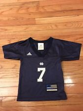 Notre Dame Fighting Irish NCAA Adidas Newborn Football Jersey Size 18-24M