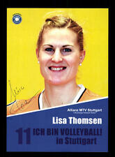 Lisa Thomsen AUTOGRAPH MTV Stuttgart Original Volleyball + a 166385
