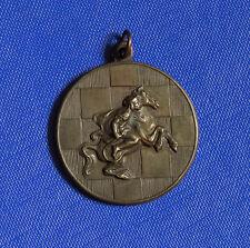 1949 SCHACH MEISTERSCHAFT MEDAILLE SCHACHBRETT SPRINGER (PFERD) 36mm SIGN.LUDVIG